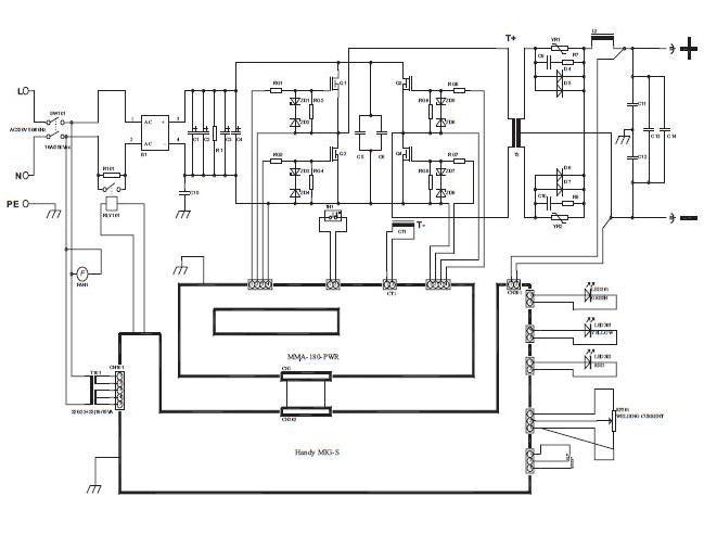 Принципиальная схема weco discovery 150t